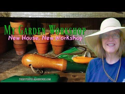 😍 My New Garden Shop - It's in the Basement! 😍