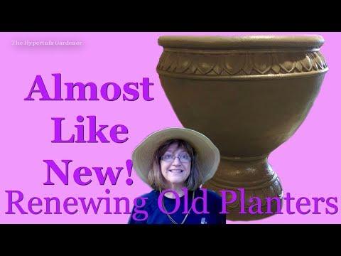 Renewing Old Planters - $$$ Money Saving Tip!