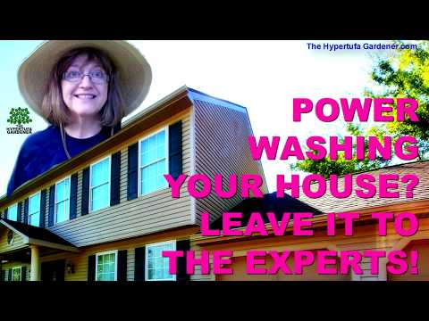 Power washing services! I Got My House Washed!