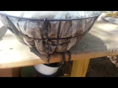 Hanging Hypertufa Baskets - I Tried It & It Works! Part One from The Hypertufa Gardener
