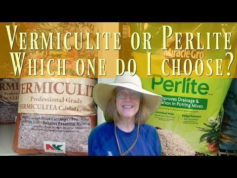 Vermiculite vs Perlite - Which Should I Choose?