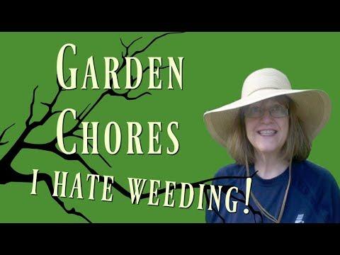 Garden Chores - Who Likes to Weed Their Hypertufa Planters?