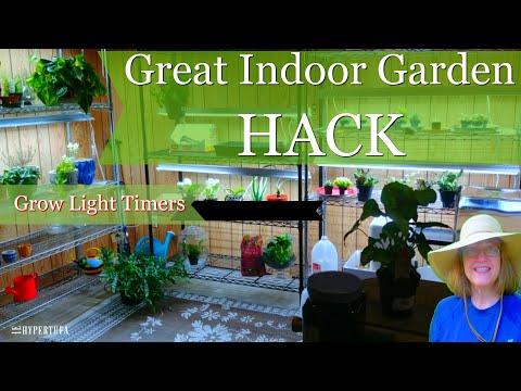 Best Indoor Gardening Hack - Grow Light Timers