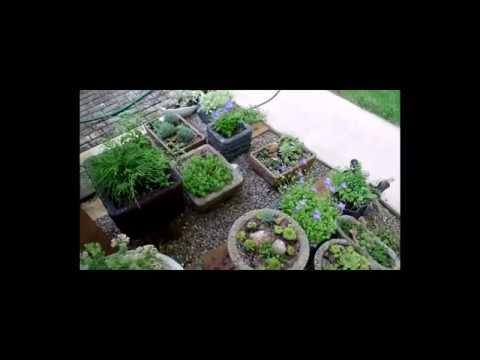 Hypertufa Pots from The Hypertufa Gardener