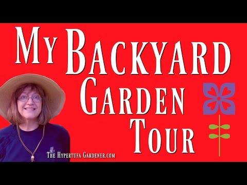 My Backyard Garden Tour - It's Little, Don't Blink!