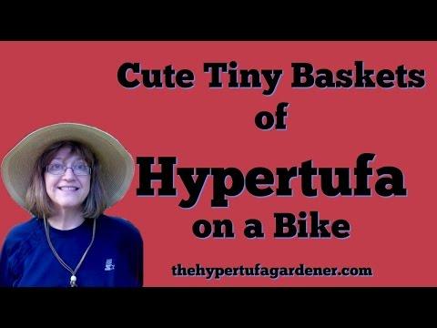 Cute Little Bike, Let's Tufa It ! | The Hypertufa Gardener