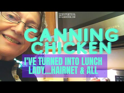 Pressure Canning Chicken - Raw Pack- Beginners Will Find It Easy! Canned Chicken Breast is Moist!