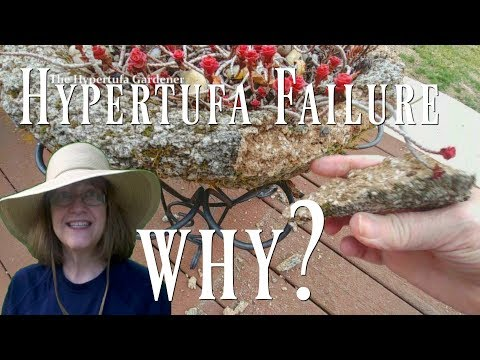 Hypertufa Failure - Why? What Happened?