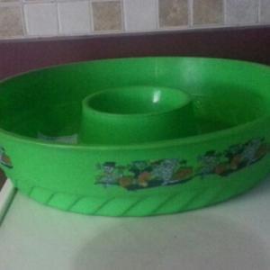 hypertufa mold - a chip dip bowl
