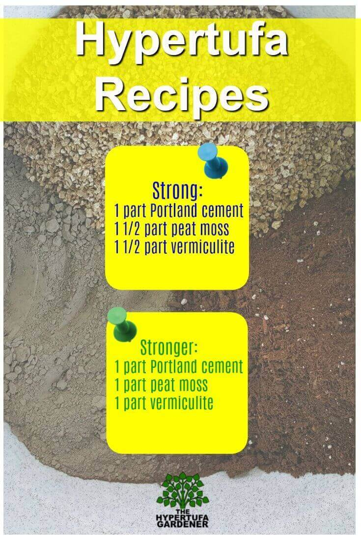 Hypertufa Recipes