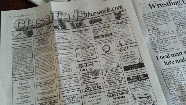 Ads for Hooked on Hypertufa