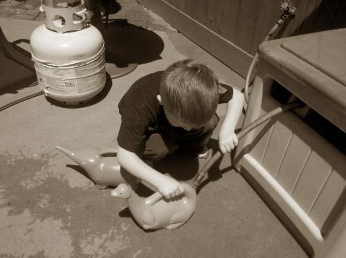 My watering helper-thehypertufagardener.com