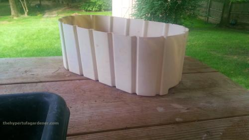 image of a Plastic Planter - good hypertufa mold