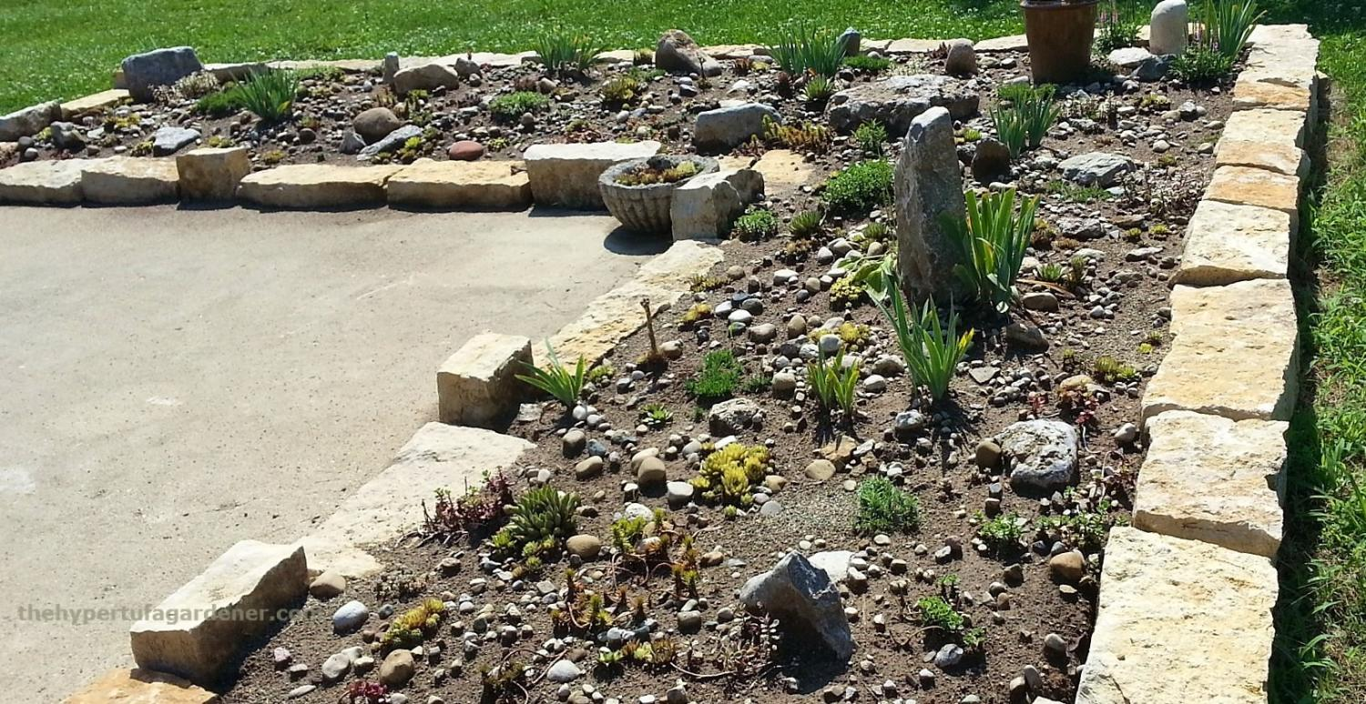 The beginnings of our Rock Garden