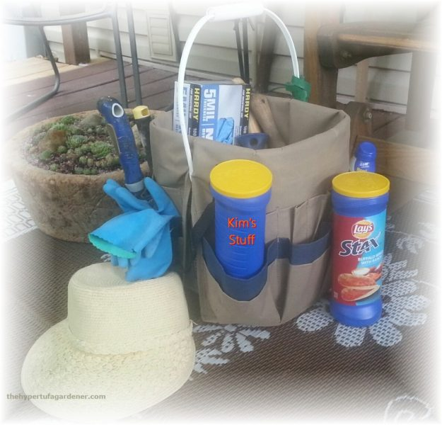 The Garden Bucket - from The Hypertufa Gardener