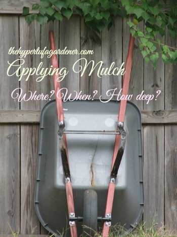 Mulching The Hypertufa Gardener