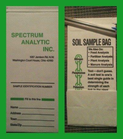 Mailer for your soil sample
