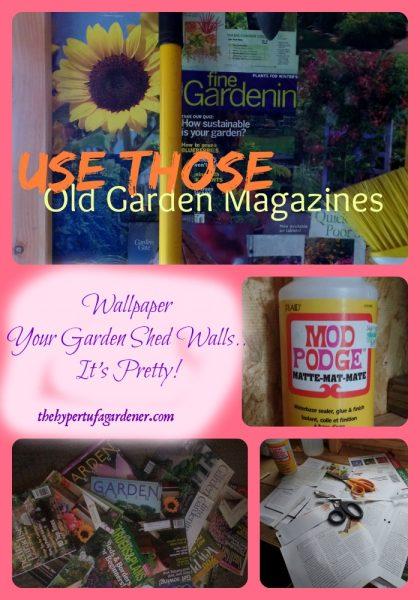 Hoarders of Garden Magazines - the Hypertufa Gardener