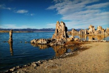 Mono Lake CA Tufa Formations