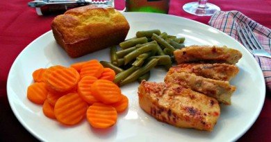Awesome Grilled Chicken Meal - The Hypertufa Gardener