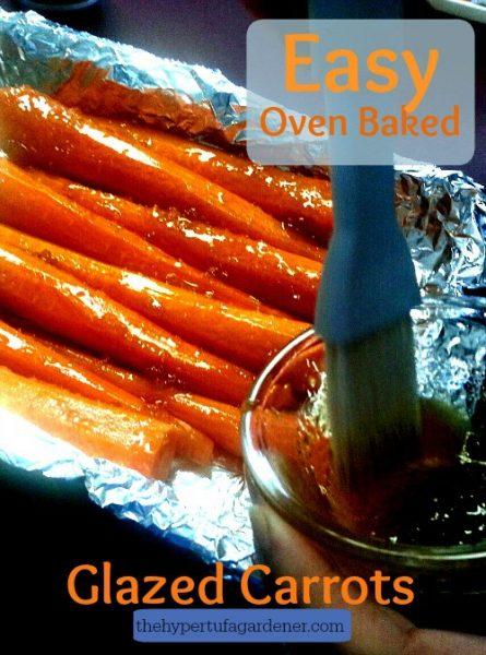 Easy Oven Baked Glazed Carrots