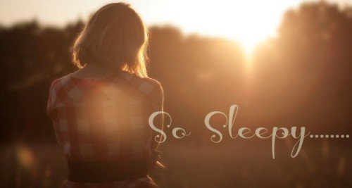 I Wish I Could Get Some Sleep!