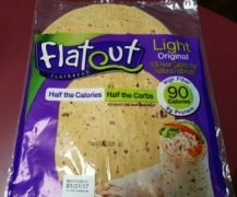 Flatout flatbread for the crust
