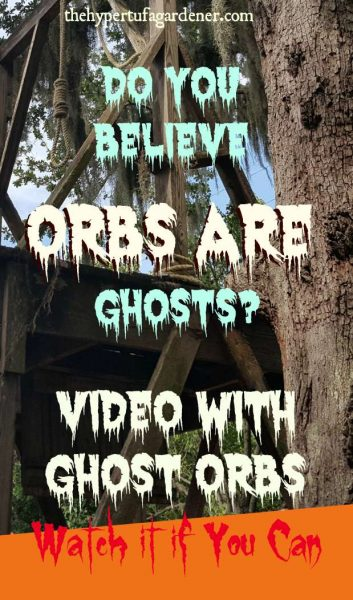 Ghost Orb Video in The Old Jail in St Augustine - The Hypertufa Gardener