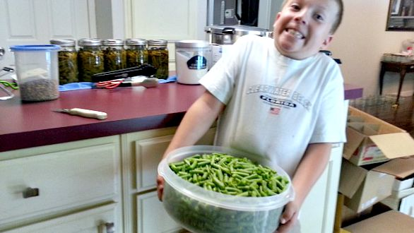 Jacob Helps Can - The Hypertufa Gardener