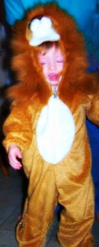 No Fuss Toddler's Halloween Costume! 2