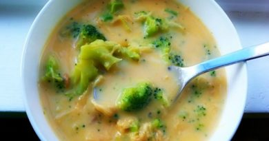 Easy Broccoli Cheese Soup - An Easy Recipe