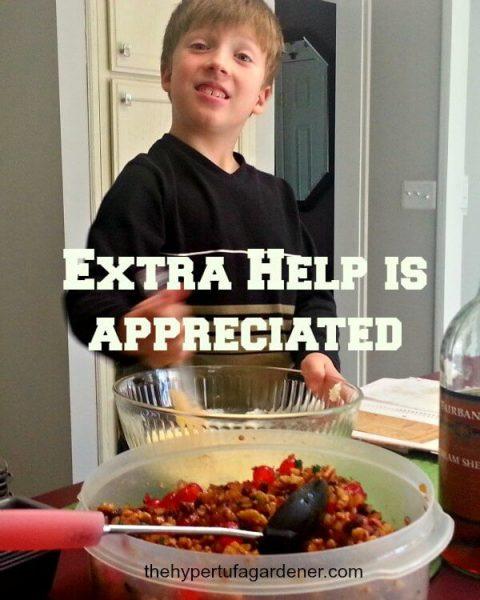 Helping Nana Make Christmas Fruitcake - The Hypertufa Gardener