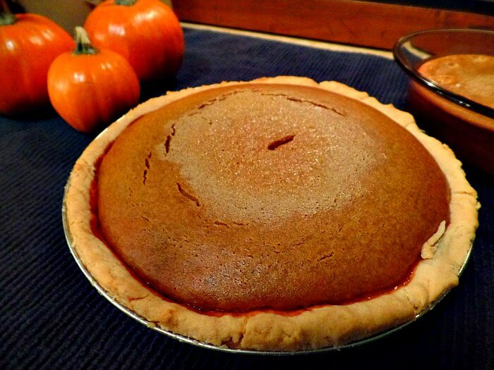 Homemade Pumpkin Pie - The Hypertufa Gardener