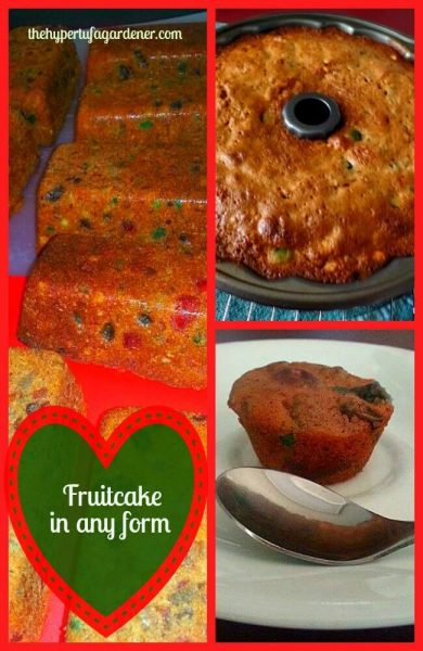 Now It's Time to Make A Christmas Fruitcake!