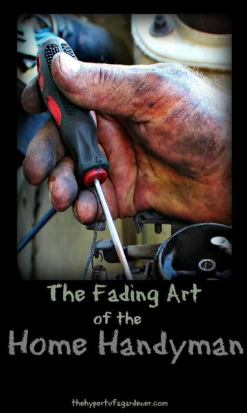 The Fading Art of the Home Handyman