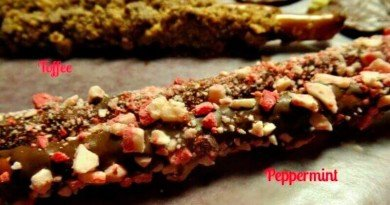 Try Peppermint Toffee Pretzels