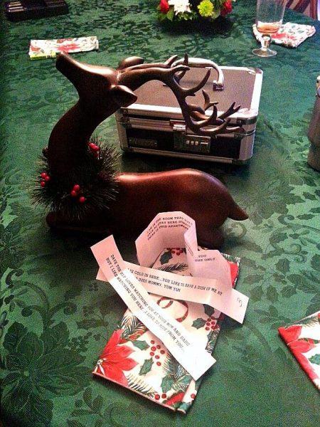 Christmas Memory Christmas Clue Hunt - The Last Christmas Clues- The Hypertufa Gardener