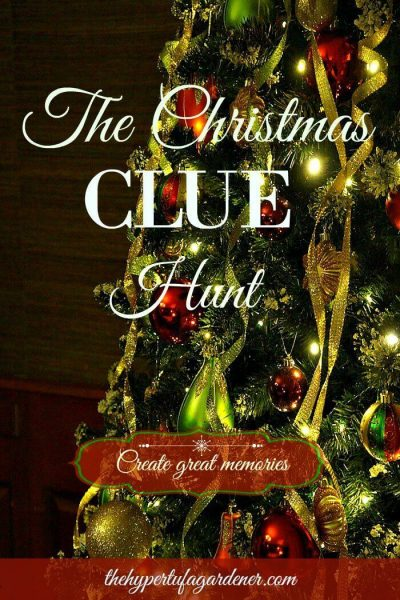 Christmas Memory Christmas Clue Hunt - The Hypertufa Gardener