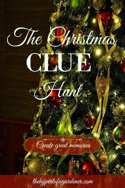 Christmas Memory Christmas Clue Hunt - The Hypertufa Gardener