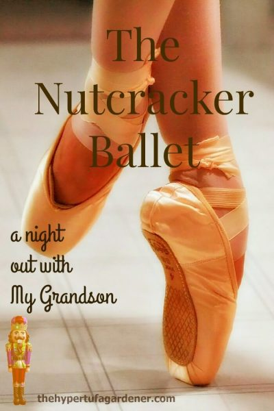 Nutcracker Ballet Tickets for Saturday! -The Hypertufa Gardener