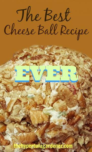 Best Cheese Ball Recipe - The Hypertufa Gardener