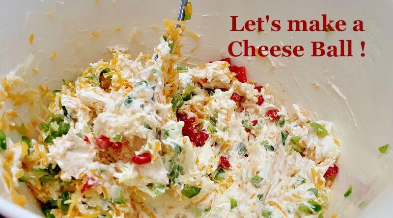 Cheese Ball Recipe Stirring it up