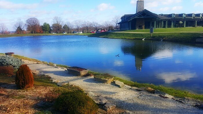 Cox Arboretum Dayton Ohio in Winter - The Hypertufa Gardener