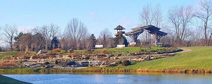 Rock Garden at Cox Arboretum Dayton Ohio - The Hypertufa Gardener