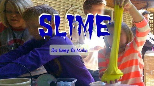 Easy Slime Recipe – Make It For A Party