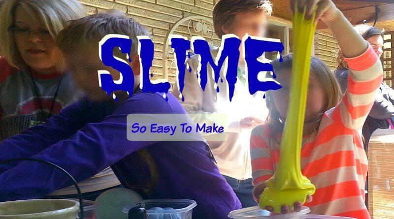 Slime Make It For A Party - The Hypertufa Gardener