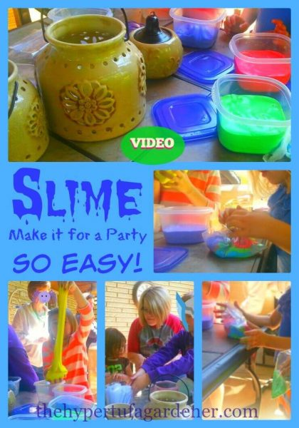 Slime - Make it for a Party - Includes Video