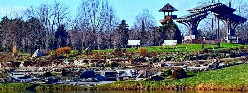 Winter January 2016 Cox Arboretum Rock Garden - The Hypertufa Gardener