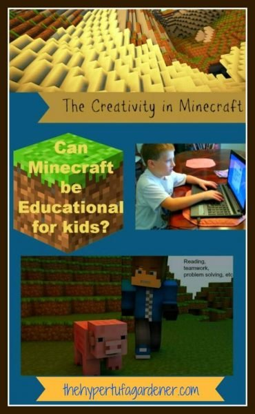 Creativity-of-Minecraft-game