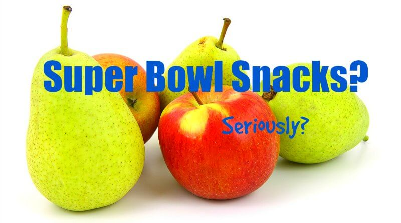 Super Bowl Snacks - Seriously - The Hypertufa Gardener
